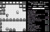 Screen from Twitch Plays Pokemon