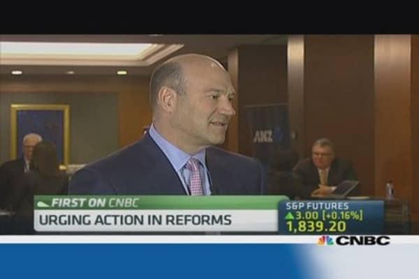 Focusing on regulation at G-20: Goldman Sachs