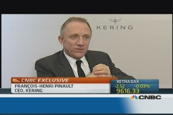 We've created value: Kering CEO