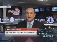 Fed unveils meeting transcripts from 2008