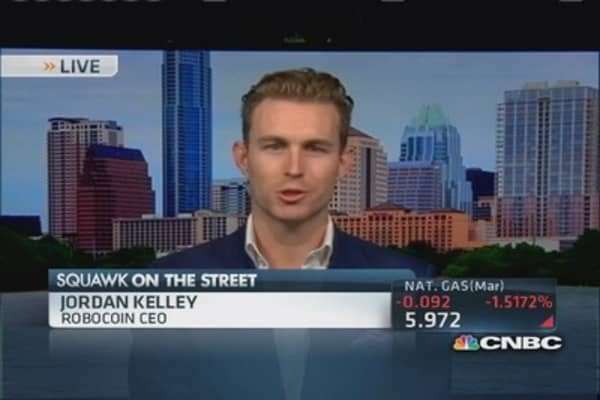 Robocoin CEO: Bitcoin exciting way to 'store wealth'