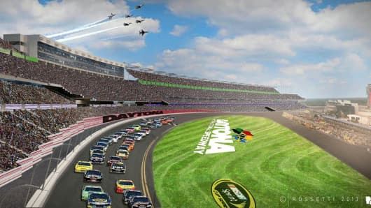 Daytona Rising is a complete overhaul of the racetrack facilities to offer more opportunities for both fans and sponsors.