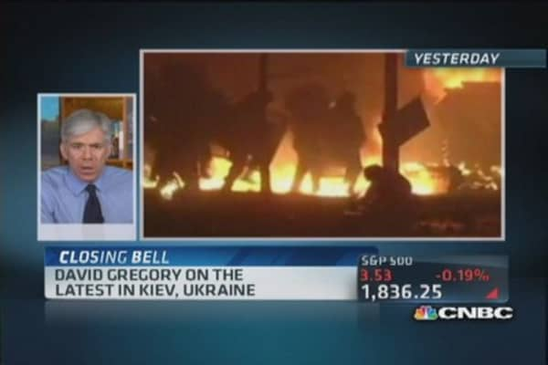 David Gregory on Russia's hand in Kiev