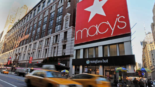 The Macy's flagship store in New York.
