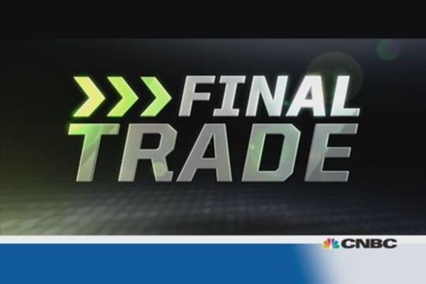 Fast Money Final Trade: ABX, HD, JOY, EWZ