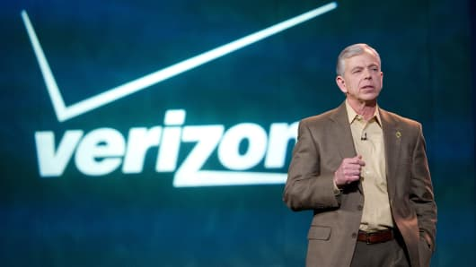 Lowell C. McAdam, chairman and chief executive officer of Verizon Communications Inc.