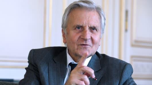 Former European Central Bank (ECB) president Jean-Claude Trichet.