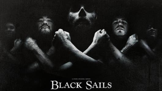 Black Sails television series on Starz Network.