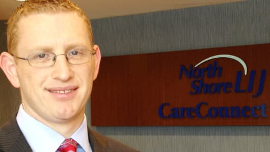 Alan Murray, North Shore-LIJ CareConnect CEO at the company's headquarters in East Hills, N.Y.