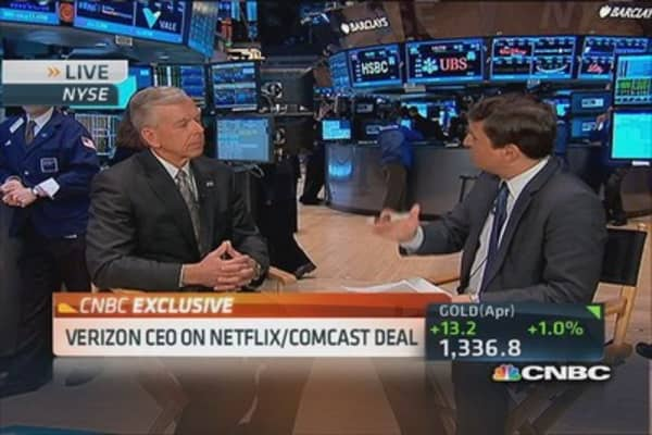 Verizon CEO: I would expect deal with Netflix