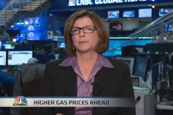 Gas price break coming?