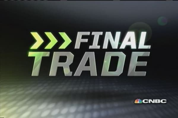 Fast Money Final Trade: SINA, HFC, NADL, NVDA