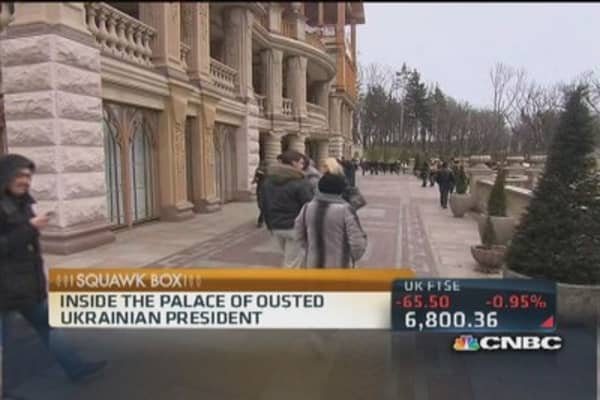 Inside the Palace of Ousted Ukrainian President