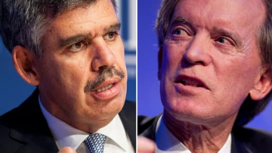 Mohamed El-Erian and Bill Gross