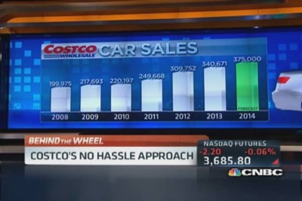 Costco's no hassle car buying plan