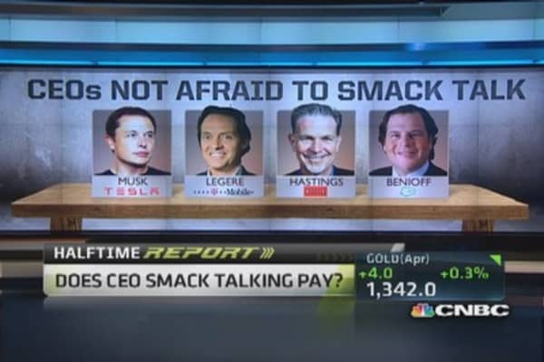 CEOs talking smack