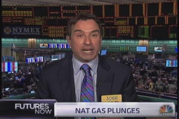 Strange natural gas action explained