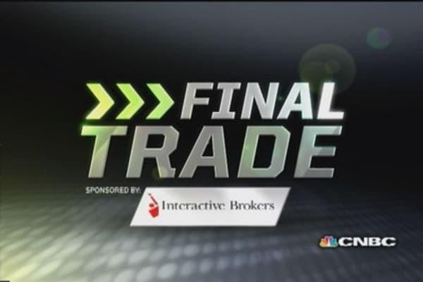 Fast Money Final Trade: GM, QCOM, AAPL, WFT