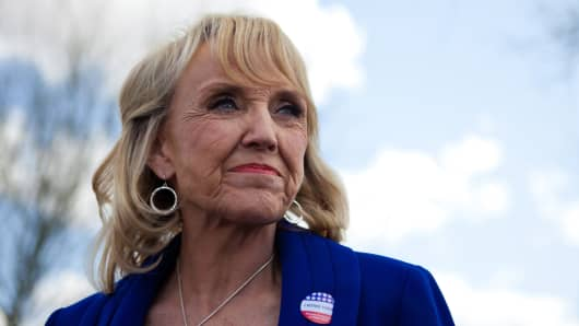 Arizona Gov. Jan Brewer.