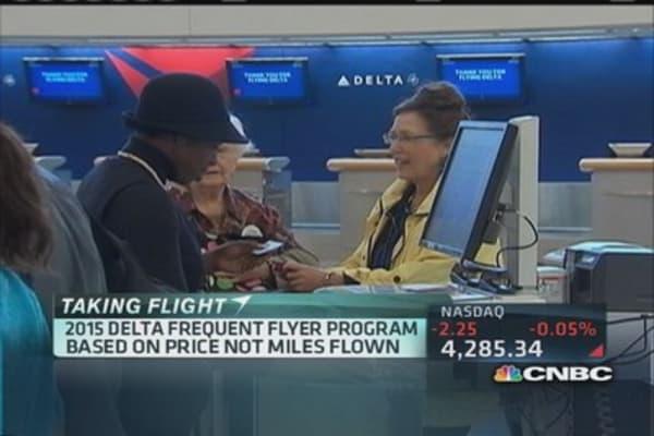 Delta bids for the lucrative business traveler