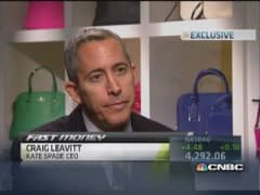 Kate Spade CEO: Handbags anchor of business