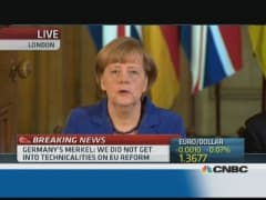 Euro zone countries must do their homework: Merkel