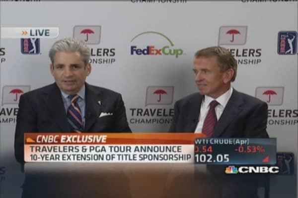 Travelers, PGA extend tournament deal