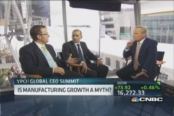 Manufacturing job growth a myth: Pro