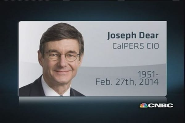 CalPERS CIO Joe Dear dies of cancer at 62