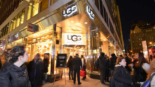 UGG store in New York City.