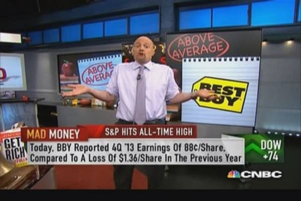 "... offers its customers a fairly unique value proposition."" -Jim Cramer"