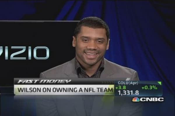 Seahawks QB Russell Wilson on being a NFL GM