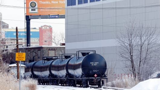 The Port of Albany has become a hub for the U.S. oil business, taking shipments from North Dakota's Bakken Shale daily by mile-long trains and shipping it in tankers down the Hudson River to refineries.