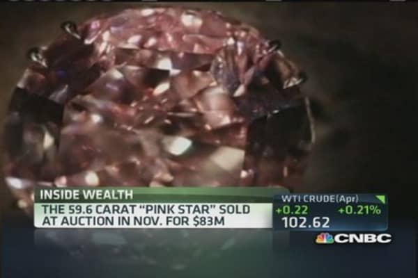 Busted 'Pink Star' sale