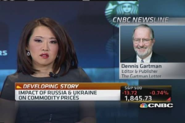 Ukraine will be forced to sell wheat: Gartman