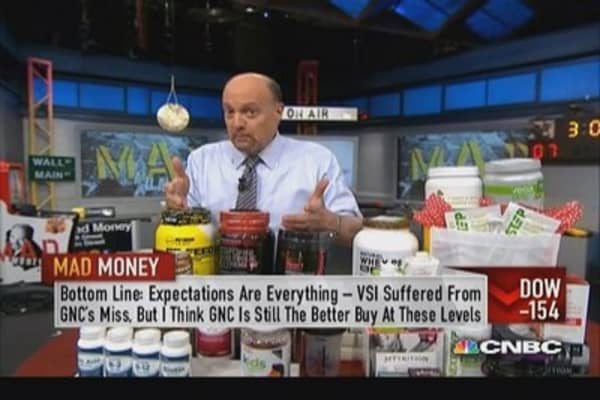 Expectations for GNC could be too low: Cramer