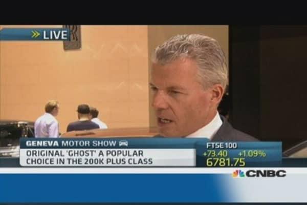 Rolls Royce 'Ghost' got a 'refresher'