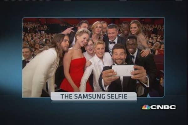 The Samsung selfie