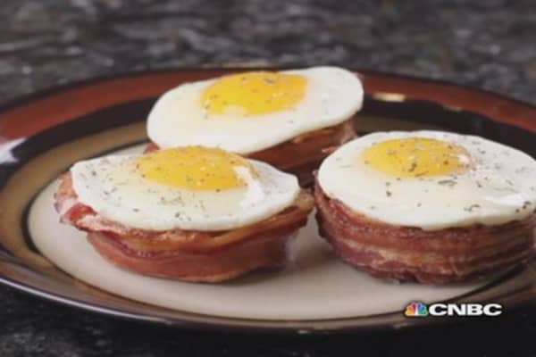 The man who invented the Perfect Bacon Bowl