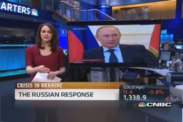 Putin: 'America doing experiments like on rats'
