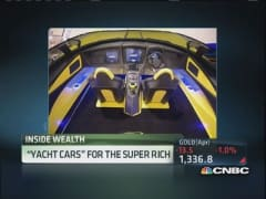 'Yacht cars' for the super rich
