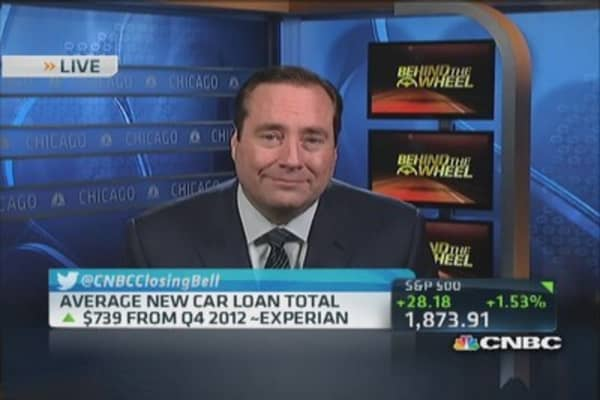Record breaking auto loans