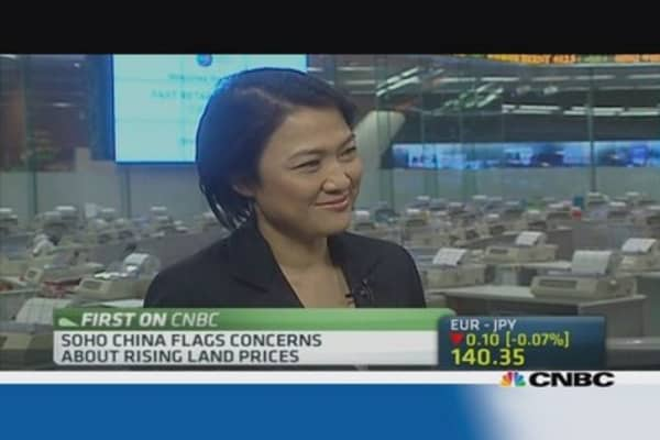 Soho China CEO: China's credit crunch is severe