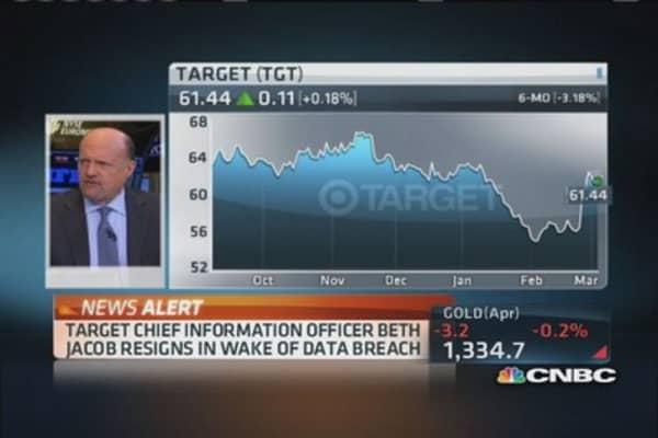 Target CIO resigns