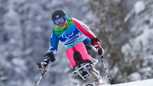 Team USA paralympian Alana Jane Nichols.