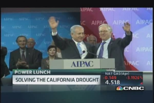 Israel helping California's drought issues