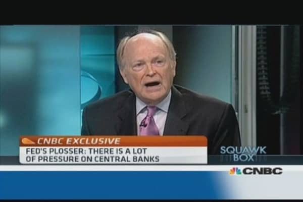 Worried about 'unintended consequences' of QE: Fed's Plosser