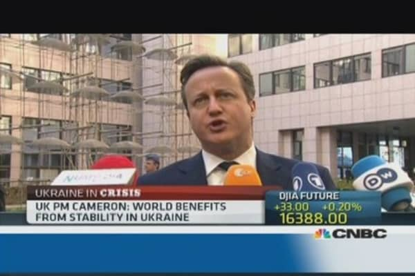 There should be consequences for Russia: UK's Cameron
