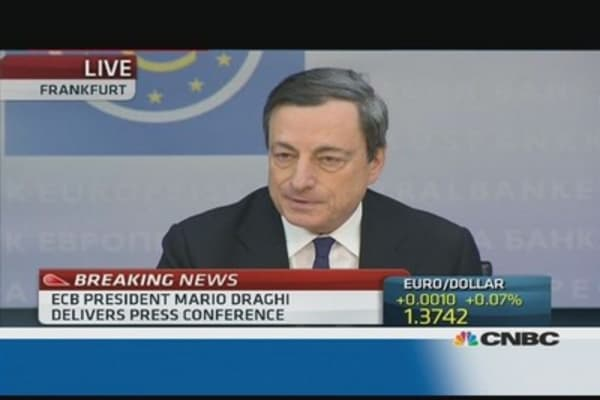 Rates to remain low: Draghi