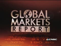European markets close lower despite upbeat US jobs report